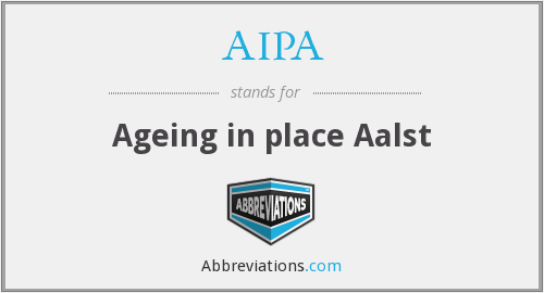 AIPA - Ageing in place Aalst