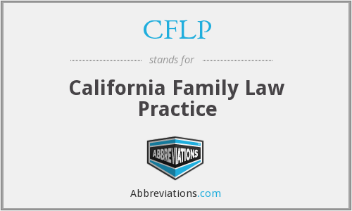 What does CFLP stand for?