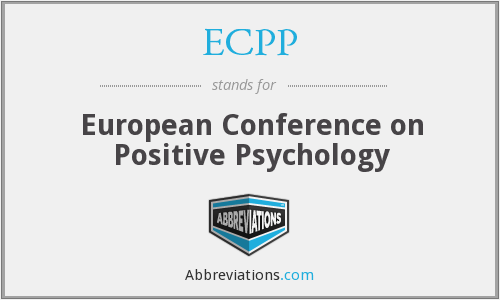 ECPP - European Conference on Positive Psychology