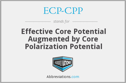 What does ECP-CPP stand for?