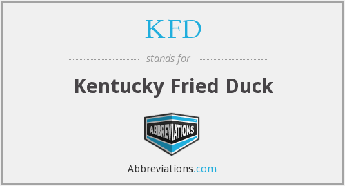 KFD - Kentucky Fried Duck