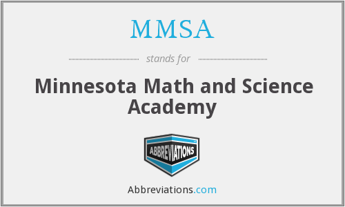 MMSA - Minnesota Math and Science Academy