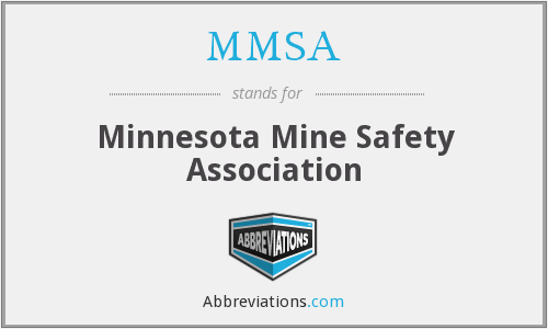 MMSA - Minnesota Mine Safety Association