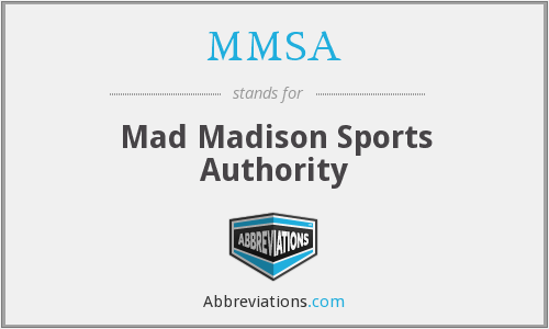 MMSA - Mad Madison Sports Authority
