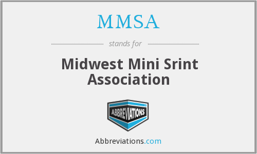 MMSA - Midwest Mini Srint Association