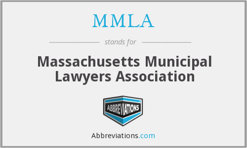 MMLA - Massachusetts Municipal Lawyers Association