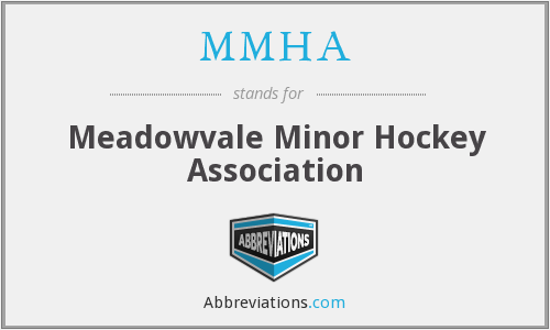 What does MMHA stand for?