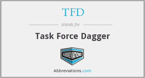 TFD - Task Force Dagger