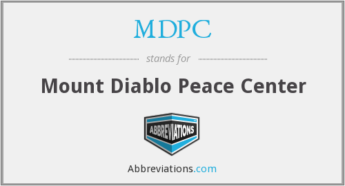 What does MDPC stand for?