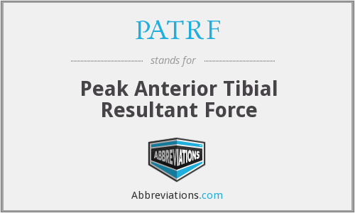 What does PATRF stand for?