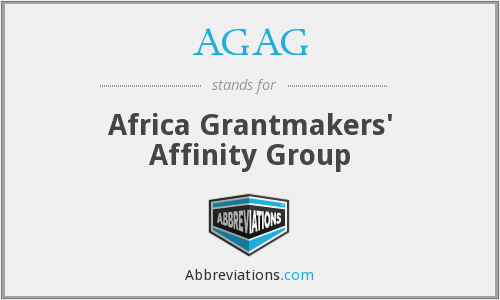 AGAG - Africa Grantmakers' Affinity Group