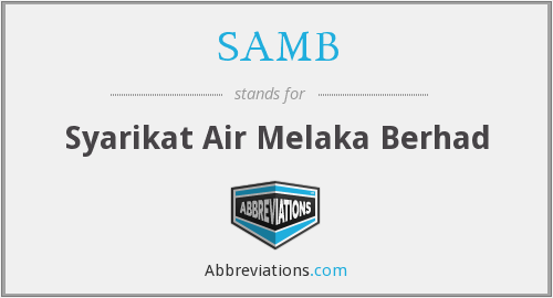 What does SAMB stand for?