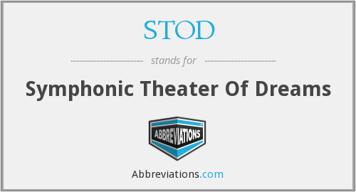 What does STOD stand for?