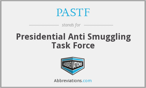 What does PASTF stand for?