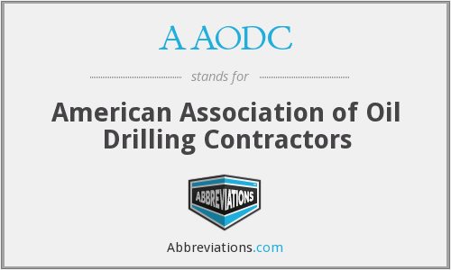 AAODC - American Association of Oil Drilling Contractors