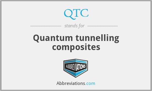 QTC - Quantum tunnelling composites
