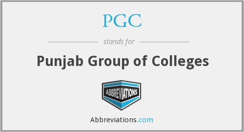 PGC - Punjab Group of Colleges