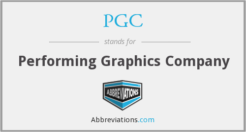 PGC - Performing Graphics Company