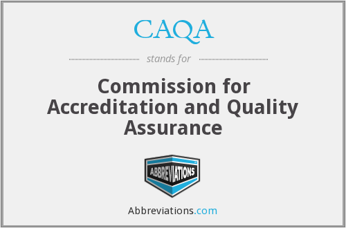 CAQA - Commission for Accreditation and Quality Assurance