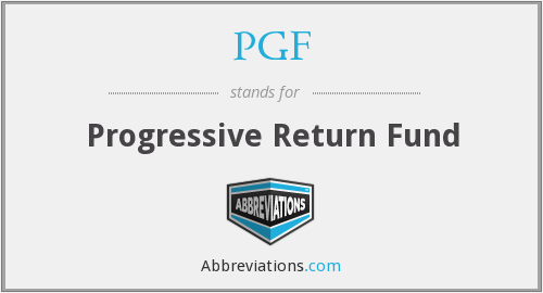 PGF - Progressive Return Fund