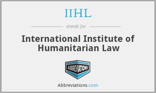 What does IIHL stand for?