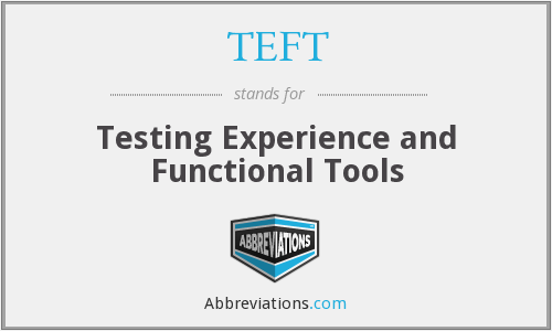 What does TEFT stand for?
