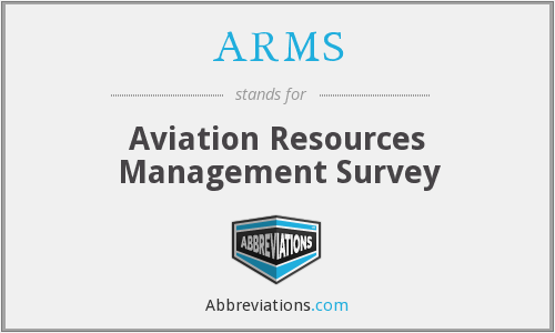 ARMS - Aviation Resources Management Survey