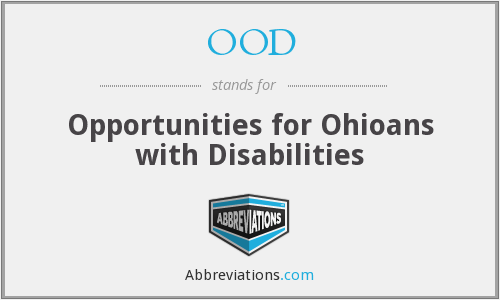 OOD - Opportunities for Ohioans with Disabilities