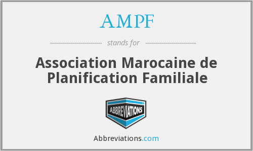 What does AMPF stand for?