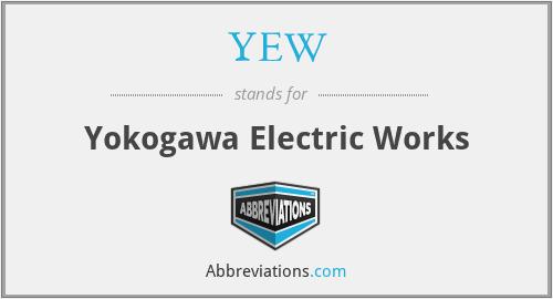 YEW - Yokogawa Electric Works