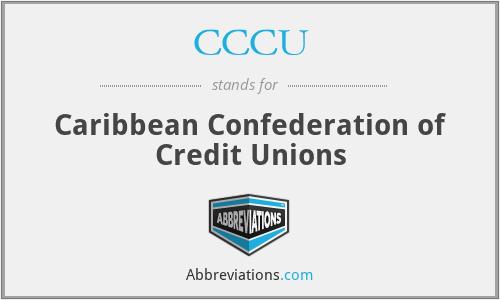 CCCU - Caribbean Confederation of Credit Unions