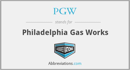 PGW - Philadelphia Gas Works