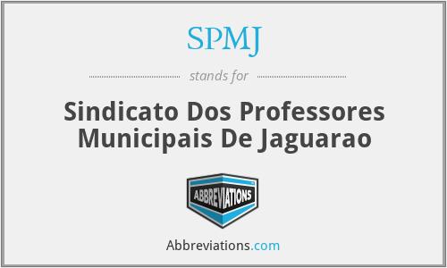 SPMJ - Sindicato Dos Professores Municipais De Jaguarao