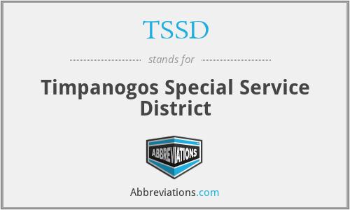 TSSD - Timpanogos Special Service District