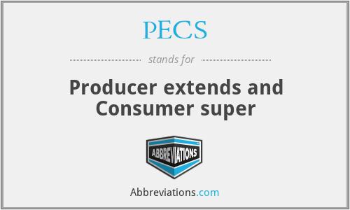 PECS - Producer extends and Consumer super