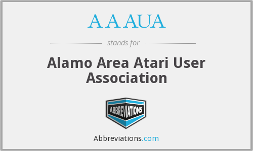 What does AAAUA stand for?