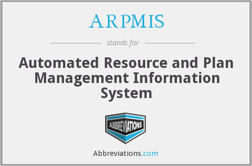 What does ARPMIS stand for?