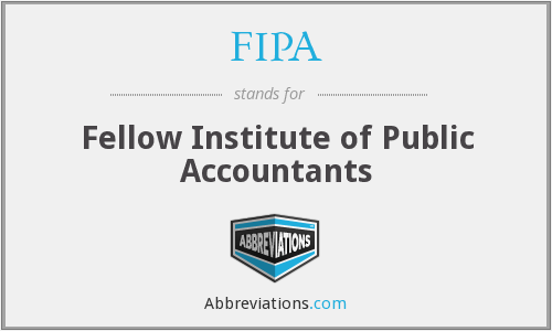 What does FIPA stand for?