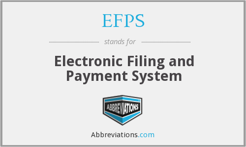What does EFPS stand for?