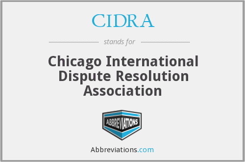 What does CIDRA stand for?