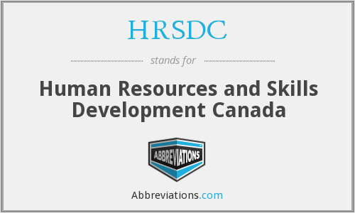 What does HRSDC stand for?