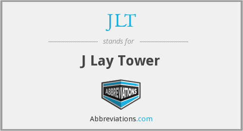 What does JLT stand for?