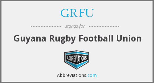 What does GRFU stand for?