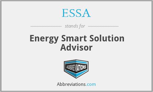 ESSA - Energy Smart Solution Advisor