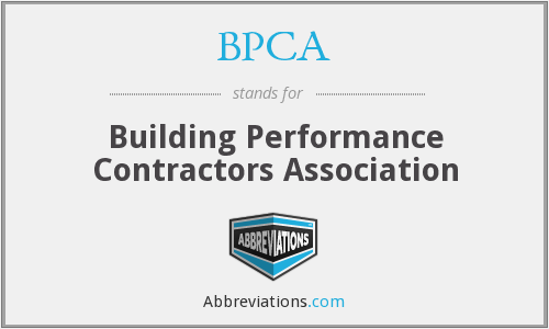 What does BPCA stand for?