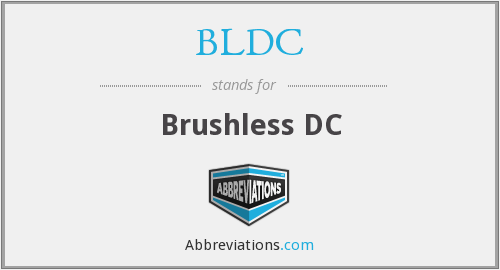 What does BLDC stand for?