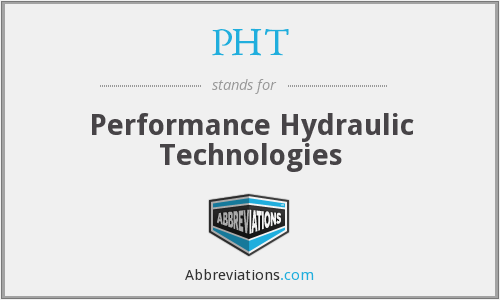 PHT - Performance Hydraulic Technologies