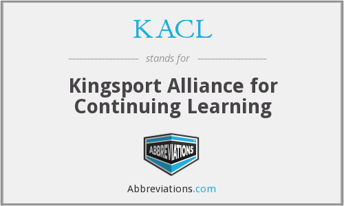 KACL - Kingsport Alliance for Continuing Learning
