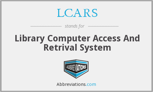 LCARS - Library Computer Access And Retrival System