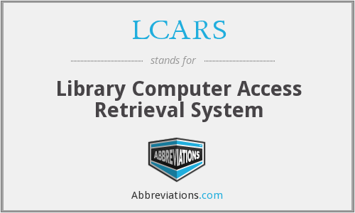 LCARS - Library Computer Access Retrieval System
